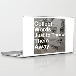 Collect words... Laptop & iPad Skin
