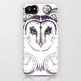 Clockwork Owl - Galaxy iPhone Case