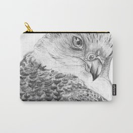 Falcon : White form gyrfalcon Carry-All Pouch