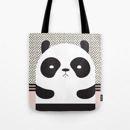 Angry Panda Tote Bag
