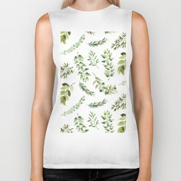 Forest in the Fall Biker Tank