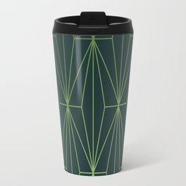 ELEGANT GREEN GABLES PATTERN Travel Mug