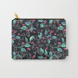 Colorful Christmas pattern Carry-All Pouch