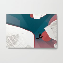 Mad Men Metal Print