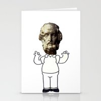 homer Stationery Cards featuring HOMER simpson by sharon