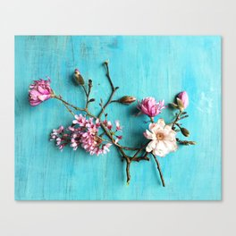Flowers of Spring Canvas Print