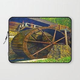 Gristmill Water Wheel Laptop Sleeve