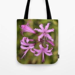 Floral Anemones Tote Bag