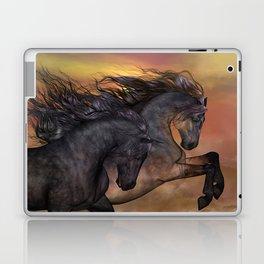 HORSES - On sugar mountain Laptop & iPad Skin