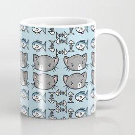 Kitty Pattern Coffee Mug