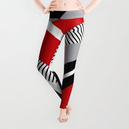 Colorful geometry 12 Leggings