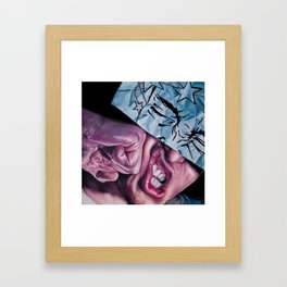 Walk It Off Framed Art Print