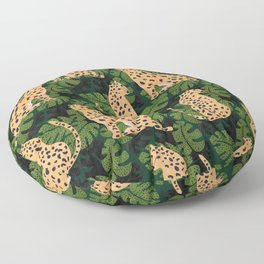 Cheetah Pattern Floor Pillow