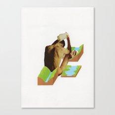 Badet Canvas Print