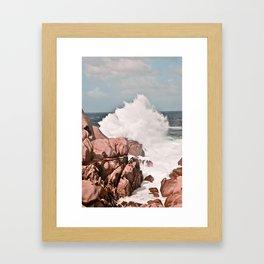 Kiss of the Sea II Framed Art Print