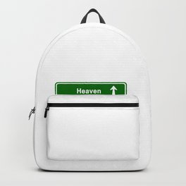 Heaven, real world & hell Backpack