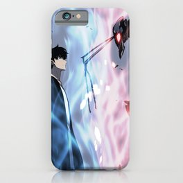 Solo Leveling iPhone Case