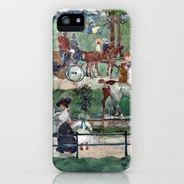 Maurice Prendergast Central Park, 1900 iPhone Case