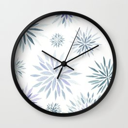 #48. JAEHOON - Flowers Wall Clock