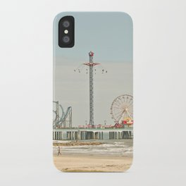 Pleasure Pier Galveston Fun iPhone Case