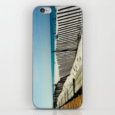 Rippling Fence iPhone & iPod Skin