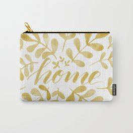 Watercolor home foliage – yellow Carry-All Pouch