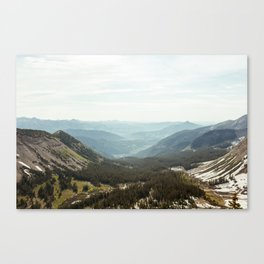 Scarp Ridge Trail 2 Canvas Print