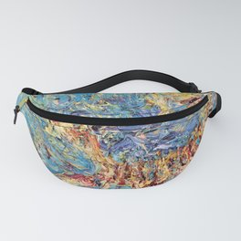 SCORPION OIL PAINTING Fanny Pack