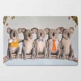 The Five Koalas Cutting Board