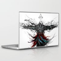 assassins creed Laptop & iPad Skins featuring assassins creed by ururuty