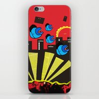 gossip girl iPhone & iPod Skins featuring Gossip by Antony Wang