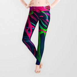 Electric Luau Leggings
