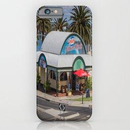 Peters Sunset Kiosk iPhone Case