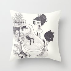 ecume Throw Pillow