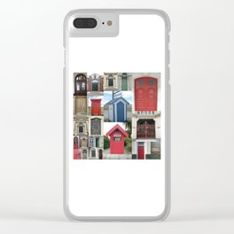 New Zealand Doors Clear iPhone Case