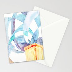 Pale Blue Skies Stationery Cards