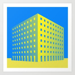 This is not a building Art Print