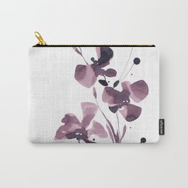 Organic Impressions 334z by Kathy Morton Stanion Carry-All Pouch