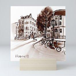 Amsterdam Mini Art Print