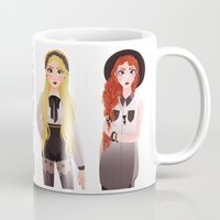 coven Mugs featuring Coven by archibaldart