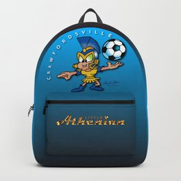 The Little Athenian Stands Guard Backpack