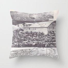 Human Communion  Throw Pillow