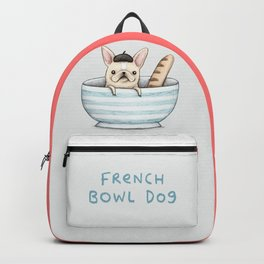 French Bowl Dog Backpack