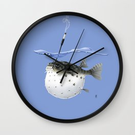 Take It Outside! (Colour) Wall Clock