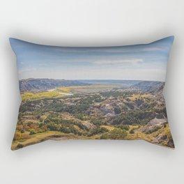 Badlands, Theodore Roosevelt NP, ND 3 Rectangular Pillow