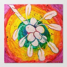 Leaves on the World Tree: Acholi Yaa Canvas Print