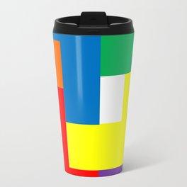 Rainbow Blocks Travel Mug