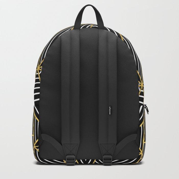 Ab Half Gold Backpack
