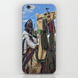 Touareg nomad - Niger, Africa iPhone Skin