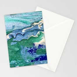 """""""Unexepected Sea Maiden"""" Stationery Cards"""